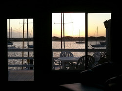 View of Bay from Living Room