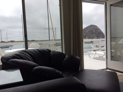 View of the Rock from Living Room