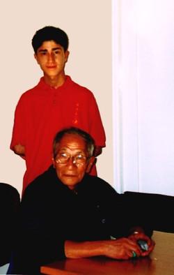 GM Yip Chun's visit summer 2000