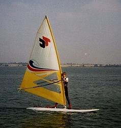 Early Windsurfer