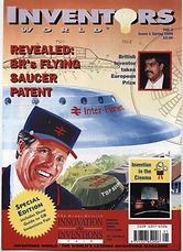 Inventors World - revealed: BR's Flying Saucer Patent