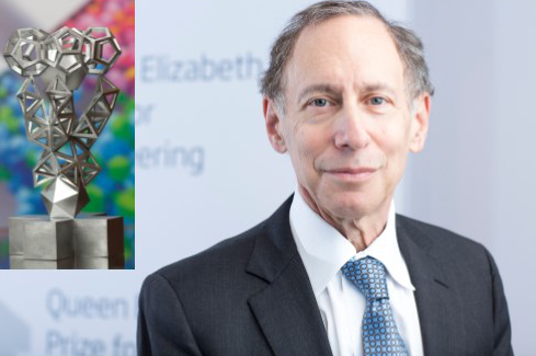 Dr Robert Langer & QE Trophy