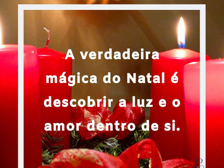 Chegou o Natal, a Festa do Coração