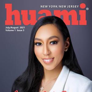 Huami Magazine features Ashley Scott