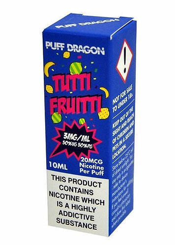 Tutti Frutti 10ml - Puff Dragon