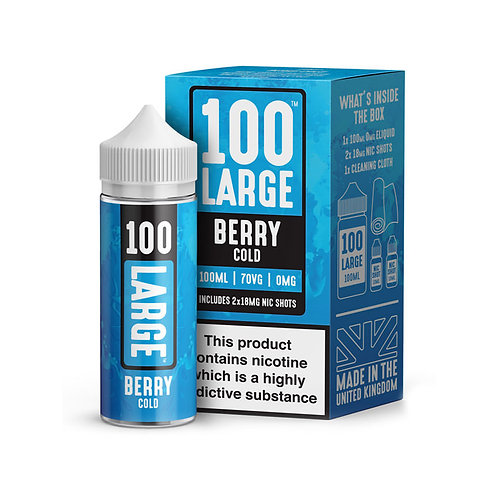 BERRY COLD 100ML 70VG 0MG