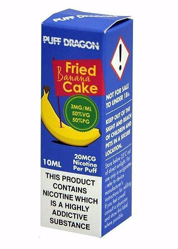 Fried Banana Cake 10ml - Puff Dragon
