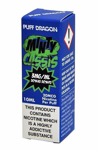 Minty Cassis 10ml - Puff Dragon