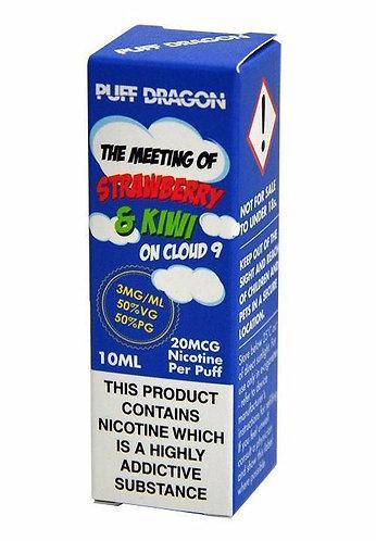 Strawberry & Kiwi 10ml - Puff Dragon 3/6/12 mg
