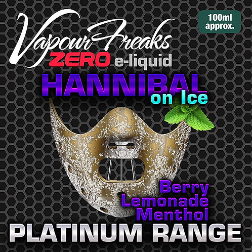 Hannibal On Ice - 100ml Vapour Freaks