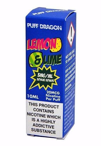 Lemon & Lime 10ml - Puff Dragon