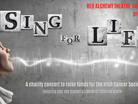 Sing for Life - A Series of Online Digital Concerts in aid of the Irish Cancer Society