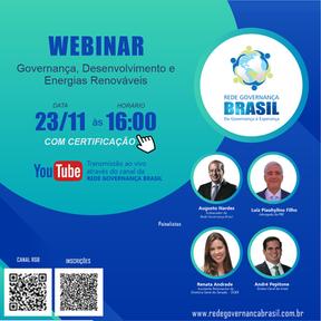 Governança, Desenvolvimento e Energias Renováveis
