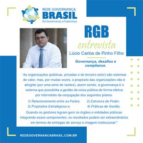 Governança, desafios e compliance: Em entrevista à RGB, Lúcio Carlos de Pinho Filho.