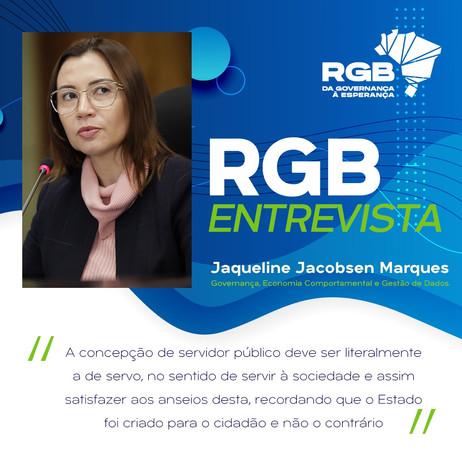 RGB Entrevista com Jaqueline Jacobsen Marques