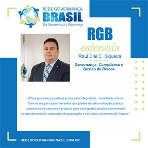 RGB Entrevista com Raul Clei Coccaro Siqueira, Controlador-Geral do Estado do Paraná