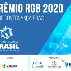 """""""Primeiro Prêmio da Rede Governança Brasil"""""""