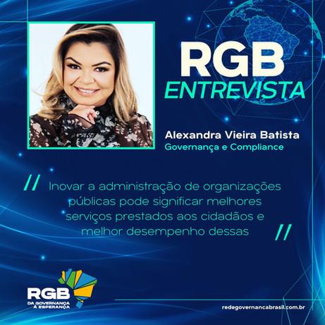 RGB Entrevista com Alexandra Vieira Batista