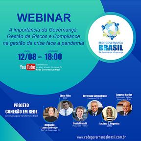 WEBNAR - Governança para Transformar o Brasil
