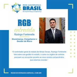 Governança e Controle com o Controlador Geral do Estado de Minas Gerais, Rodrigo Fontenelle