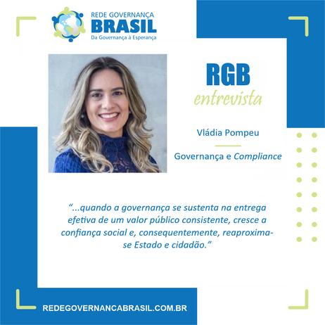 RGB Entrevista com Vládia Pompeu, Advogada-Geral da União Adjunta