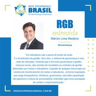 Em entrevista à RGB, Márcio Medeiros, Diretor de Administração e Finanças da Valec.