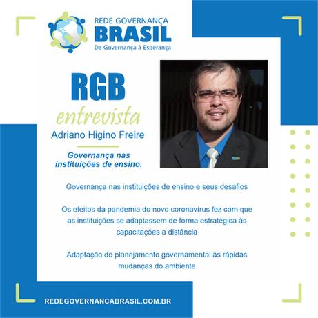O coronavírus e os desafios da governança na educação, com Adriano Higino Freire
