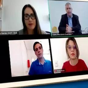 Membros da Rede Governança Brasil se reúnem para discutir série de eventos