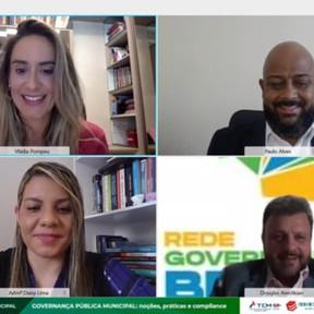 Webinário debate os caminhos da Governança Pública Municipal na Bahia