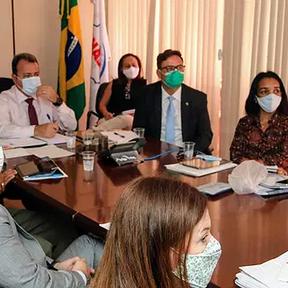 Nova diretoria da Funasa faz primeira reunião do CGRC sobre Governança