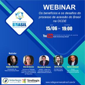 Os benefícios e os desafios do processo de acessão do Brasil na OCDE.