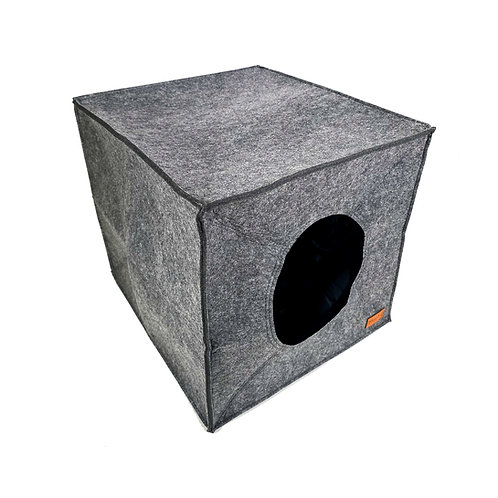 Silver Box Cat Cave