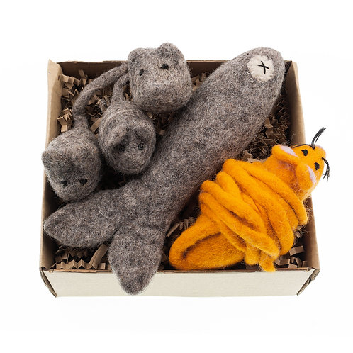 USA The Mice Cat Toy Collection