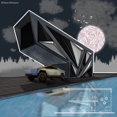 Every cyber truck deserves a cyber house