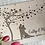 Thumbnail: Rustic Wedding Guest Book/ Memory Book