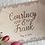 Thumbnail: Rustic Wedding Guest Book/ Memory Book