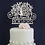 Thumbnail: Personalized Mr & Mrs Wedding Cake Toppers