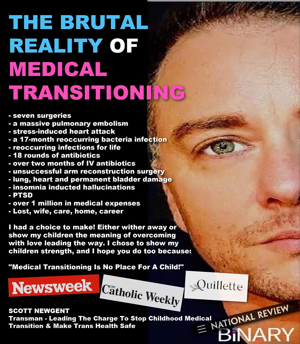 Trans man Scott Newgent