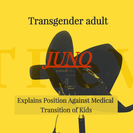 Another Trans 'Juno' Explains Position Against Medical Transition of Kids
