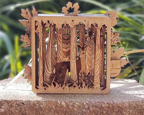 3D Woodland Ornament