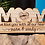 Thumbnail: Mom We Love You With All Our Hearts Personalized Plaque