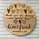 Thumbnail: Thank You for Sharing our Special Day Rustic Personalized Favor Coasters