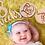 Thumbnail: Wood Baby Milestone Photo Prop Discs