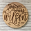 Thumbnail: Mr & Mrs Rustic Personalized Coasters