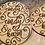 Thumbnail: Rustic Personalized Coasters