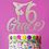 Thumbnail: Personalized Gymnastics Birthday Wood Cake Topper