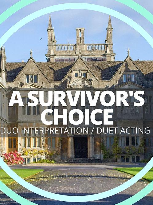 A Survivor's Choice