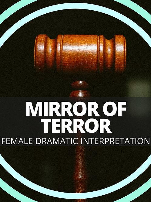 Female- Mirror of Terror