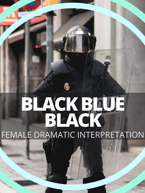 Black Blue Black