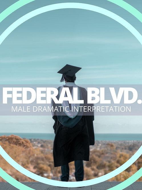 Male- Federal Blvd.